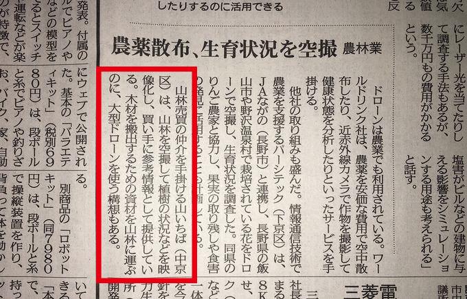 山いちば 1月19日京都新聞記事