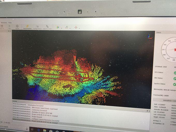 レーザー測量データ