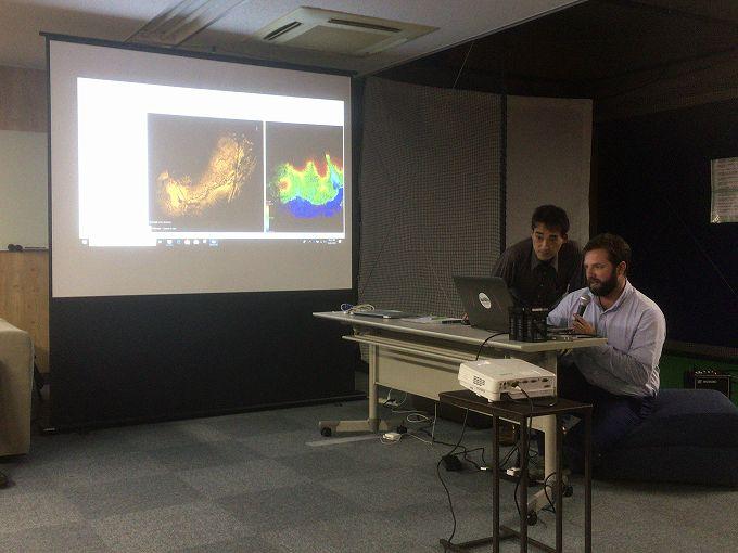 LiDAR360による点群データ解析
