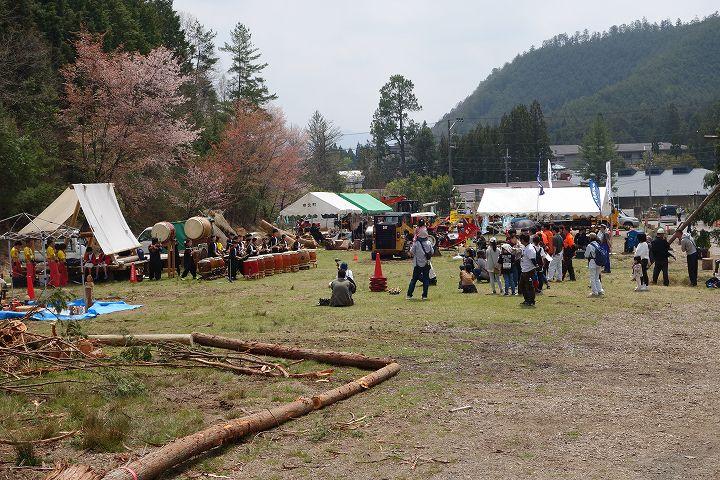 木こり技能大会